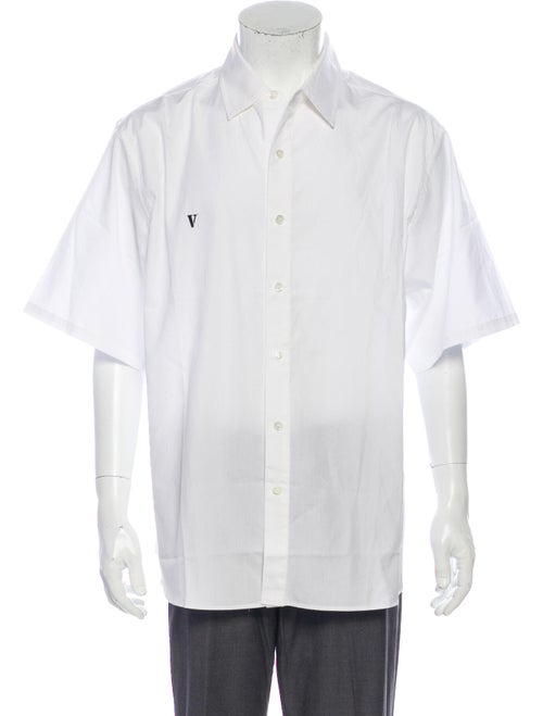 Vlone Short Sleeve Shirt White