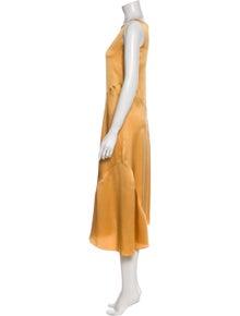 Vince Silk Midi Length Dress