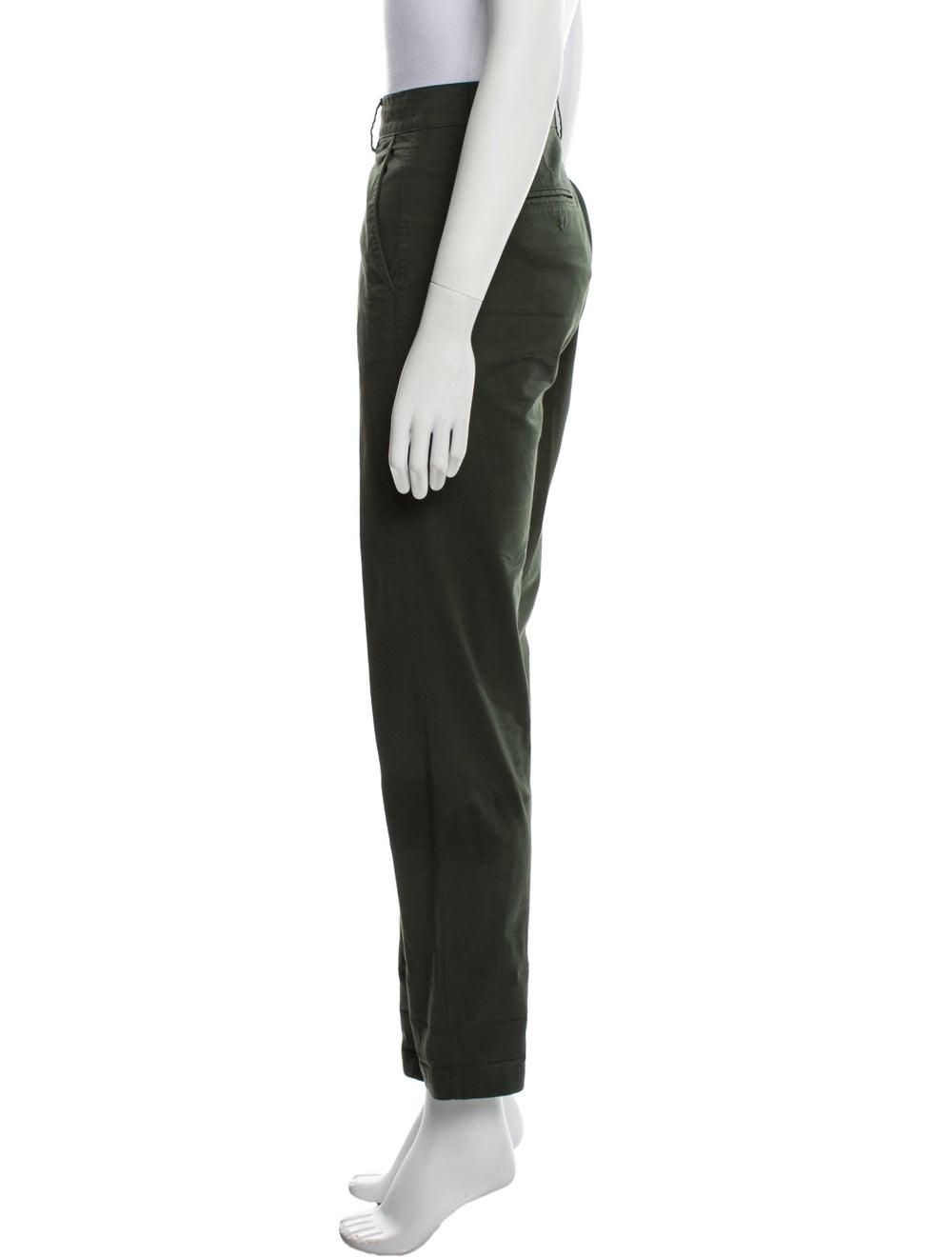 Vince Straight Leg Pants Green - image 2