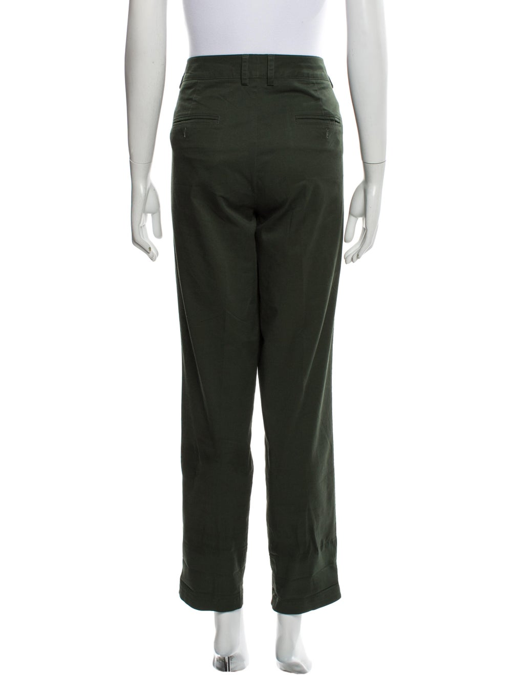 Vince Straight Leg Pants Green - image 3
