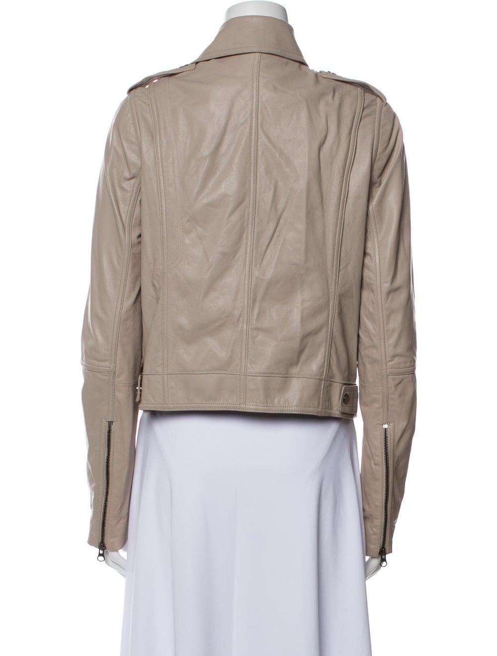 Vince Leather Biker Jacket - image 3