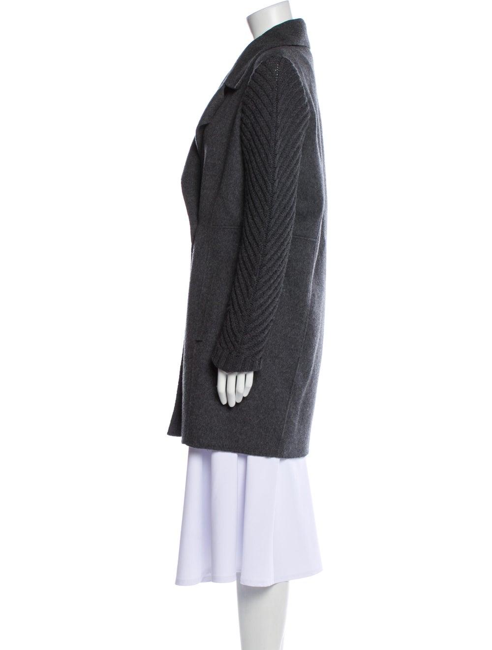 Vince Wool Biker Jacket Wool - image 2