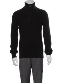 Vince Wool Turtleneck Polo Sweater