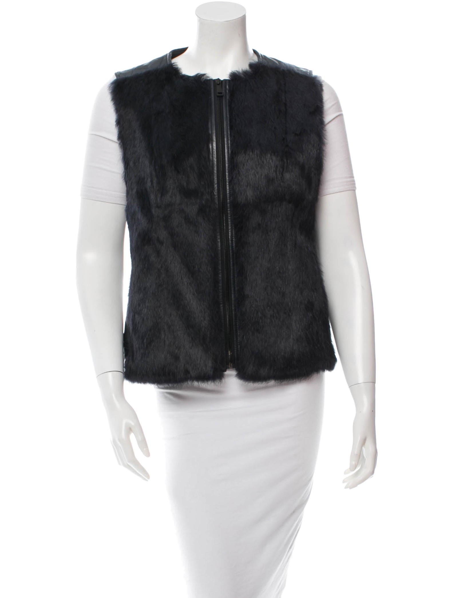 Shop fur trim imported vest at Neiman Marcus, where you will find free shipping on the latest in fashion from top designers.