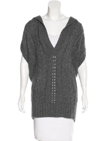 Vince Cable Knit Oversized Sweater None