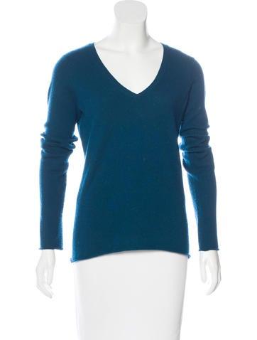 Vince Knit V-Neck Sweater None