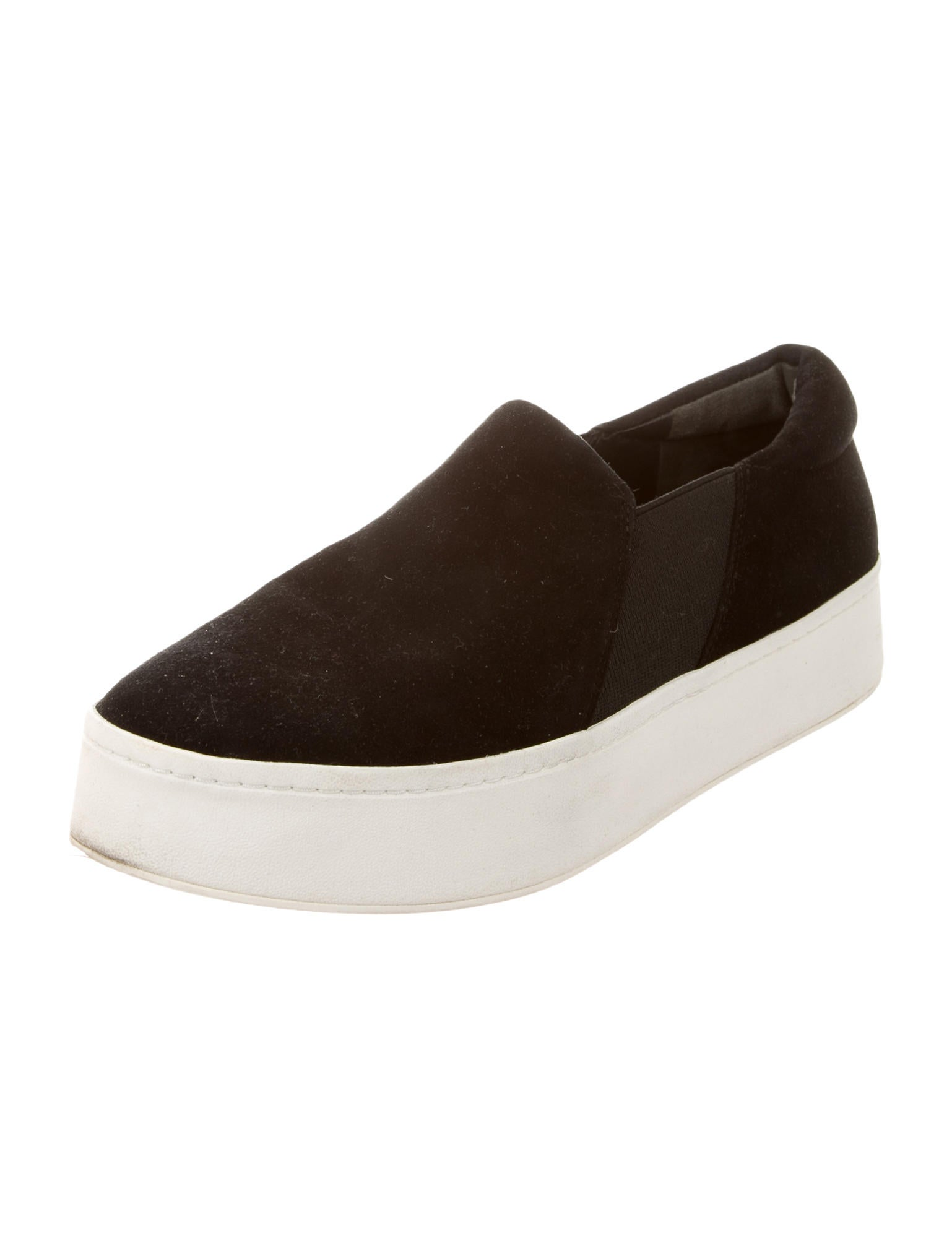 vince suede slip on sneakers shoes wvn25260 the realreal