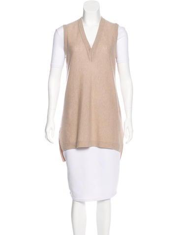 Vince Cashmere Knit Vest None