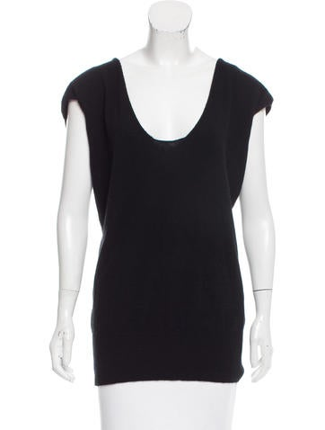 Vince Sleeveless Knit Top None
