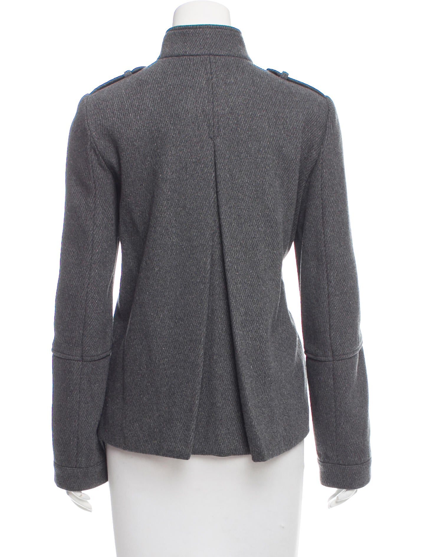 Vince Wool Zip Up Jacket w Tags Clothing WVN28379  : WVN283793enlarged from www.therealreal.com size 1431 x 1888 jpeg 261kB