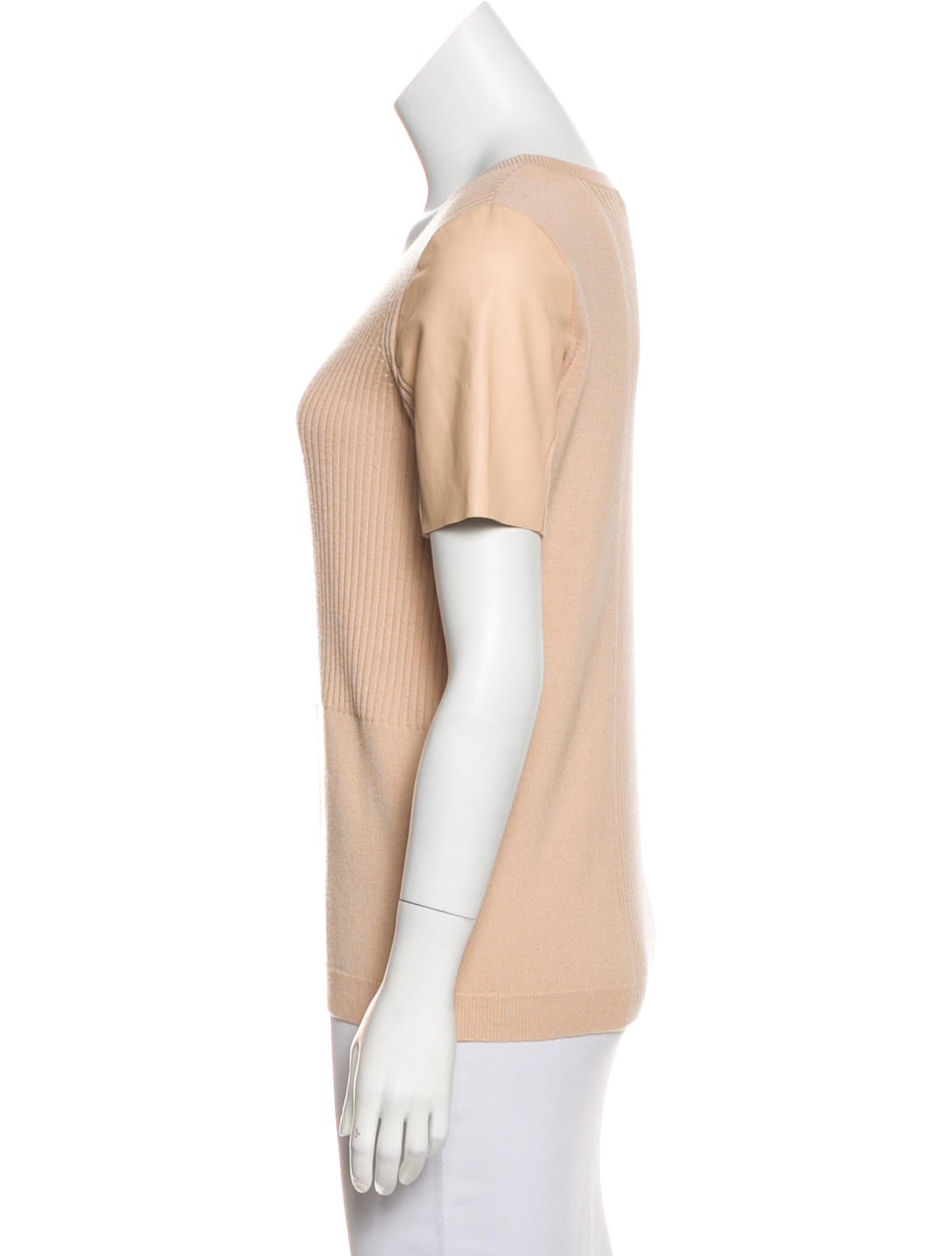 Vince Wool Blend Top Clothing Wvn29015 The Realreal