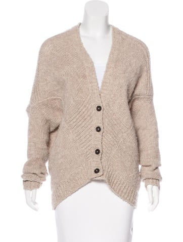 Vince Wool Knit Cardigan None