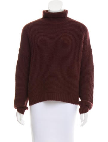 Vince Long Sleeve Turtleneck Sweater None