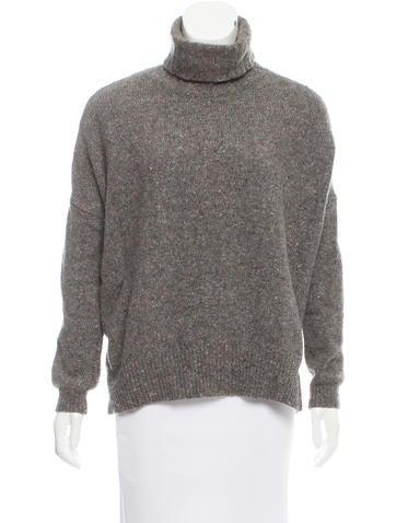 Vince Wool Turtleneck Sweater None