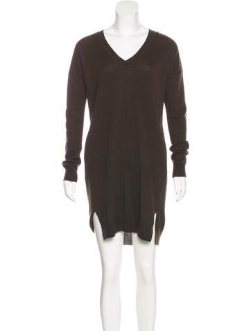 Vince Wool-Blend Sweater Dress None