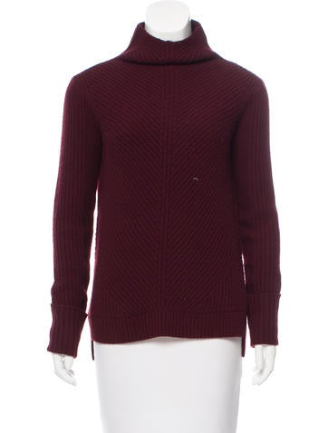 Vince Long-Sleeve Rib Knit Sweater None