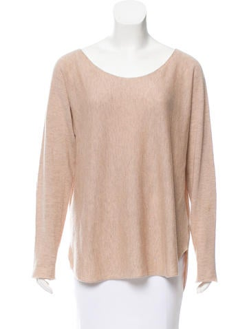 Vince Oversize Wool & Cashmere-Blend Top None
