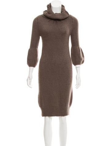 Vince Long Sleeve Sweater Dress None
