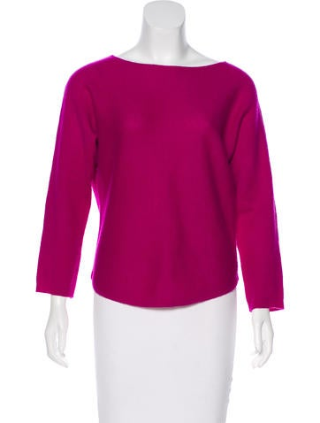 Vince Long Sleeve Wool Top None