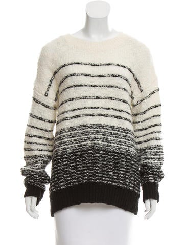 Vince Striped Wool Sweater None
