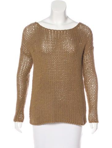 Vince Wool Rib Knit Sweater None