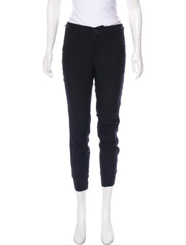 Vince Mid-Rise Skinny Pants None