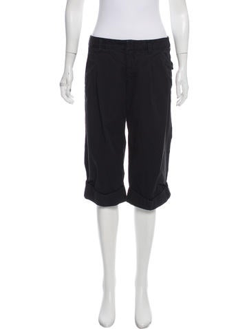 Vince Mid-Rise Cropped Pants None