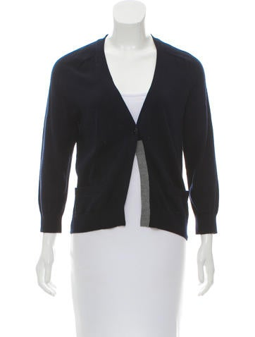 Vince Knit Button-Up Cardigan w/ Tags None