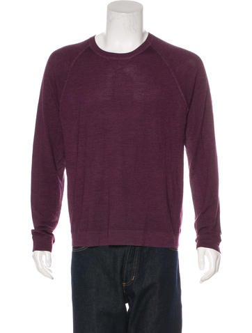 Vince Wool & Silk Sweater None