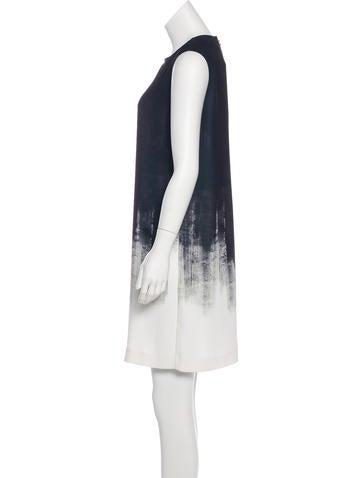 Patterned Sheath Dress w/ Tags