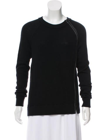 Vince Rib Knit Sweater None