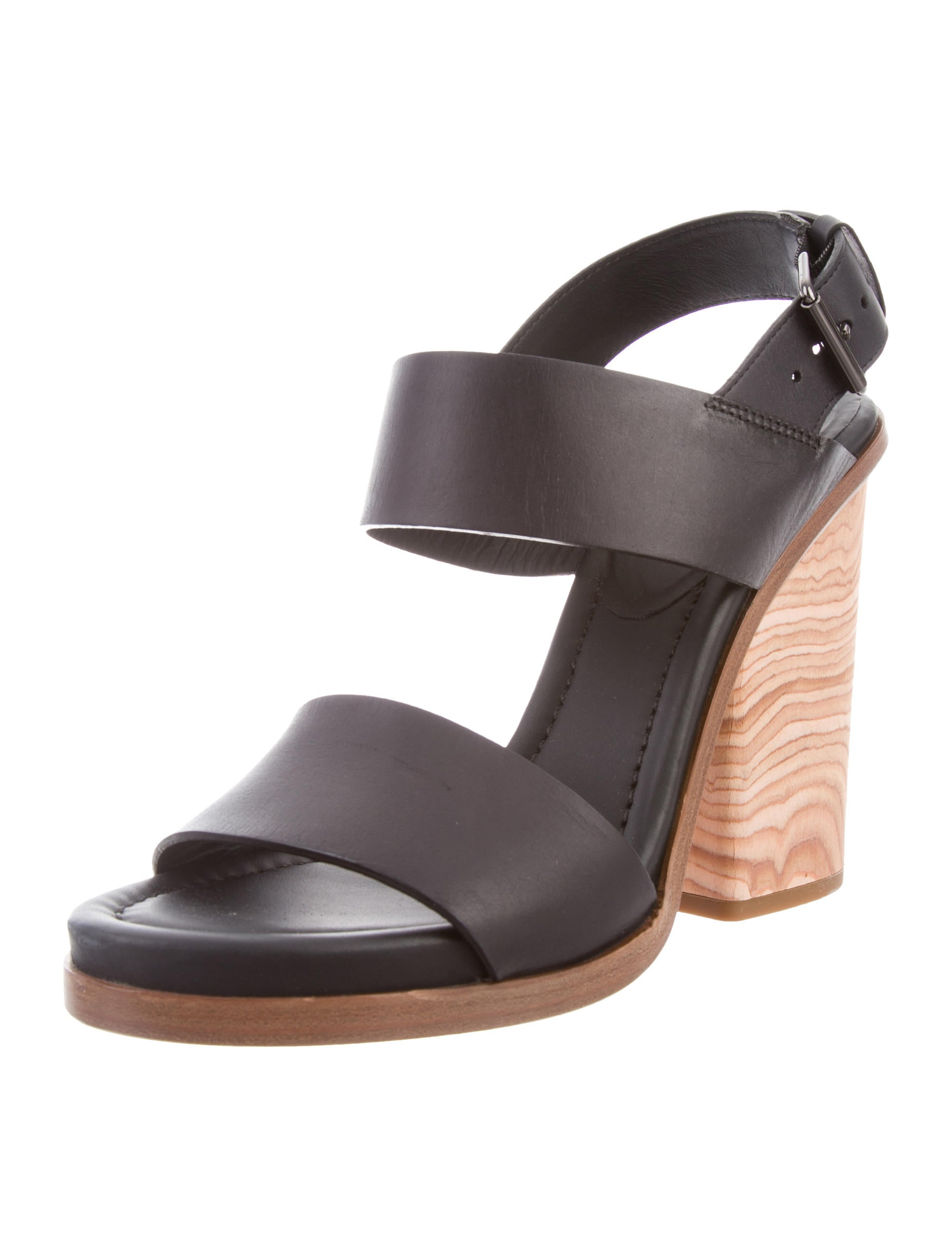 84857e17a01 Vince Leather Ankle Strap Sandals - Shoes - WVN37563