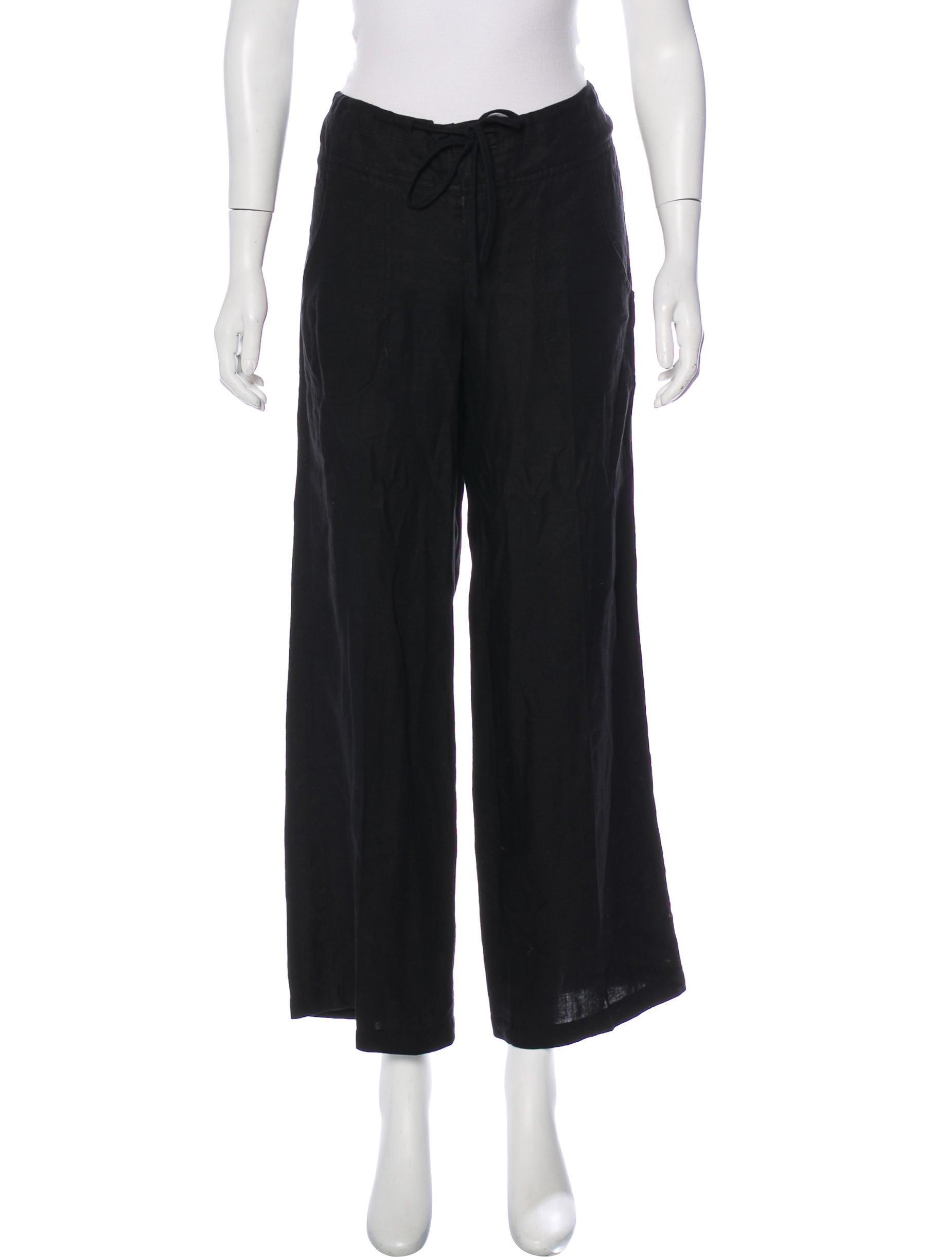 77d1c809de Vince Linen Wide-Leg Pants - Clothing - WVN38270