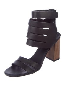 b0681d92845 Vince. Leather Multistrap Sandals