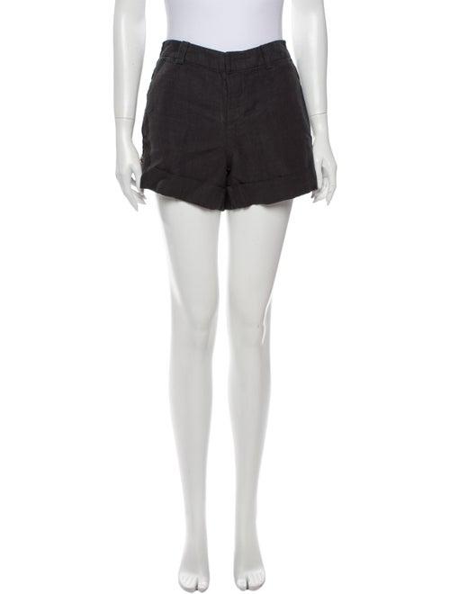 Vince Linen Mini Shorts