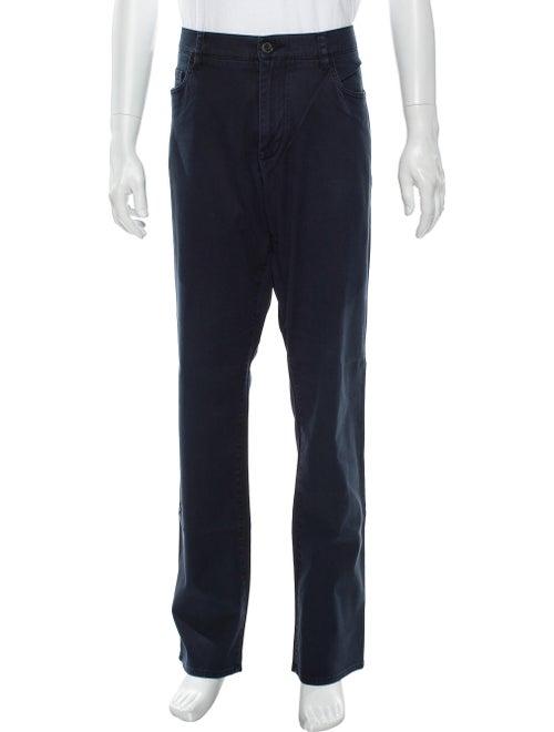 Vince Straight-Leg Jeans Blue