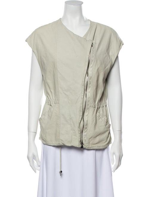 Vince Lamb Leather Vest