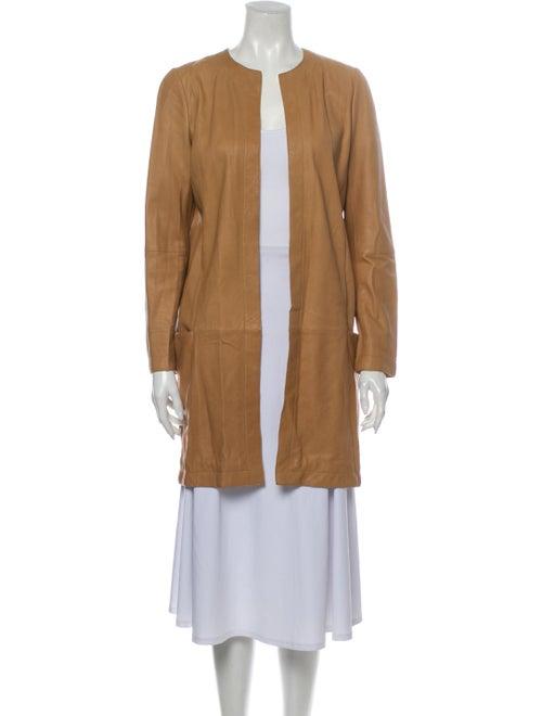 Vince Leather Coat