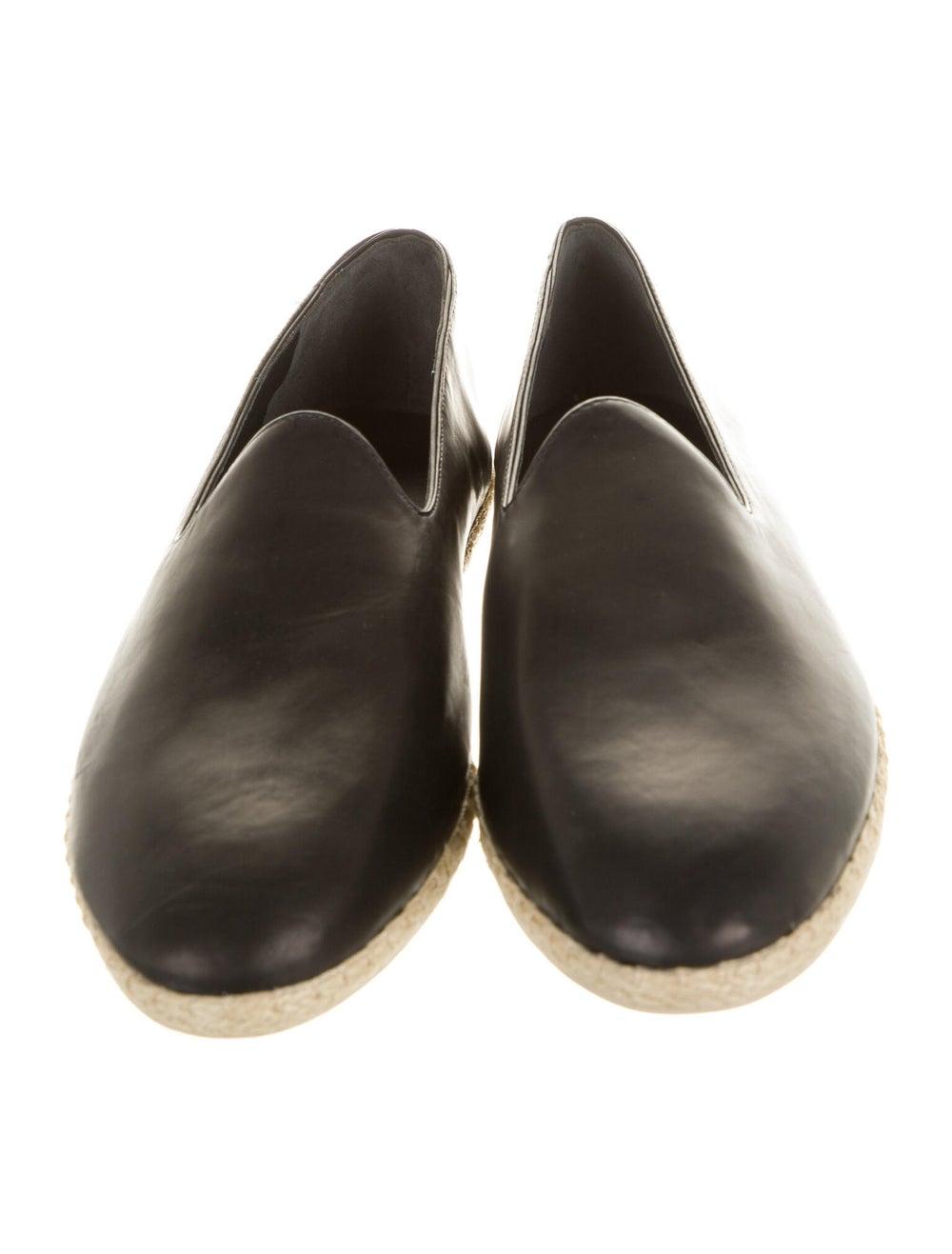 Vince Malia Leather Espadrilles Black - image 3
