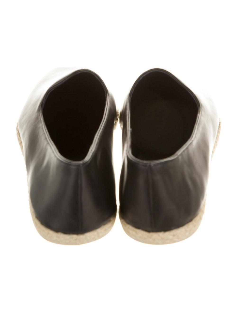 Vince Malia Leather Espadrilles Black - image 4