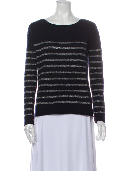 Vince Wool Striped Sweater Wool - image 1