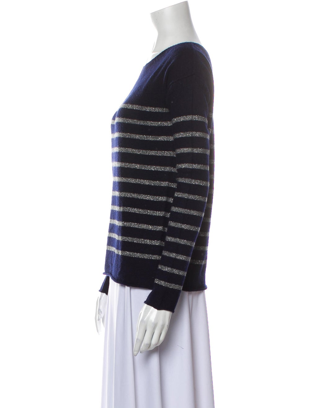 Vince Wool Striped Sweater Wool - image 2