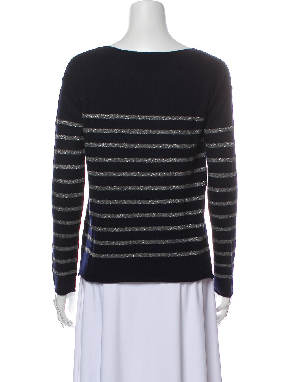Vince Wool Striped Sweater Wool - image 3