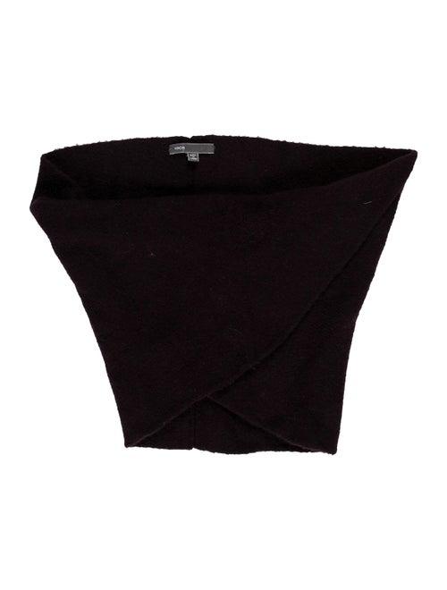 Vince Knit Twist Snood Purple