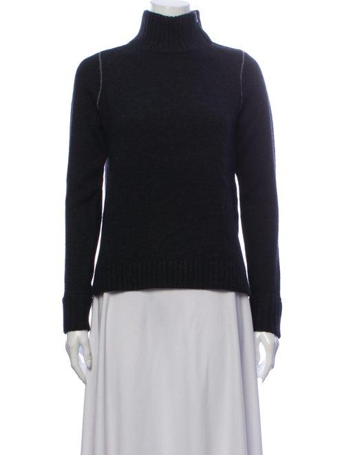 Vince Wool Turtleneck Sweater Wool