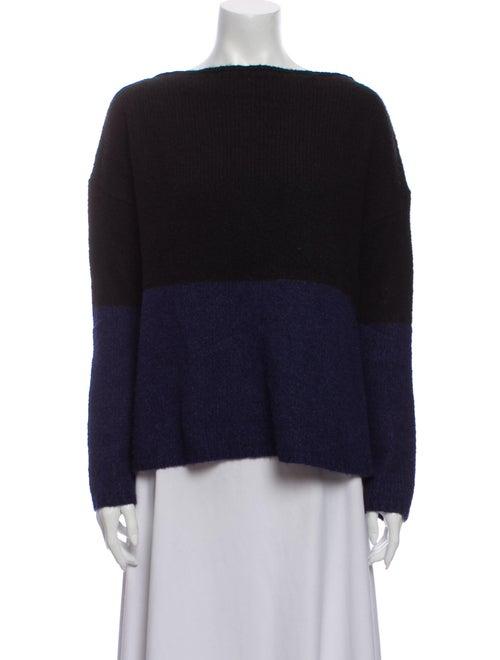 Vince Wool Striped Sweater Wool