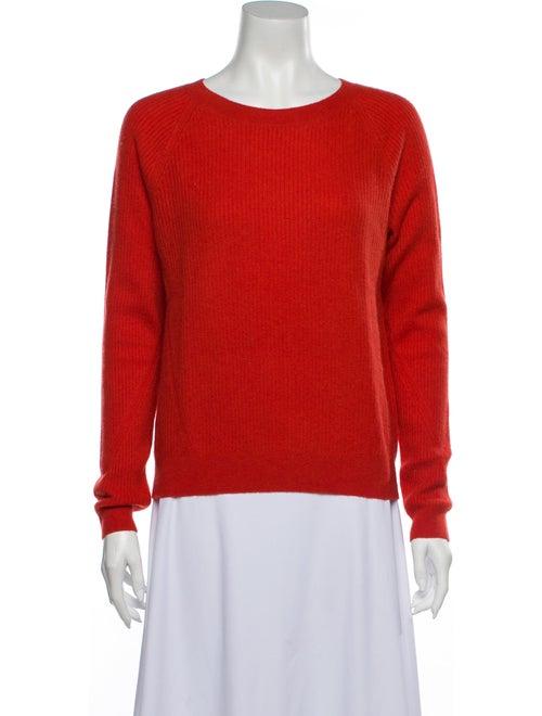 Vince Cashmere Scoop Neck Sweater w/ Tags Orange