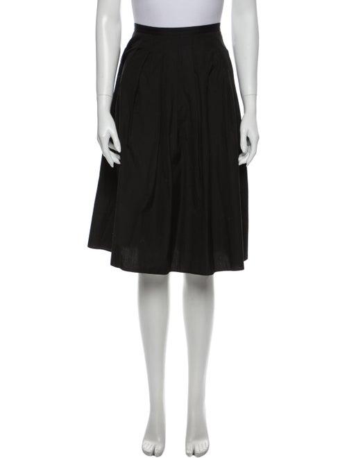 Vince Knee-Length Skirt Black