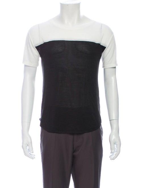 Vince Crew Neck Short Sleeve T-Shirt Black