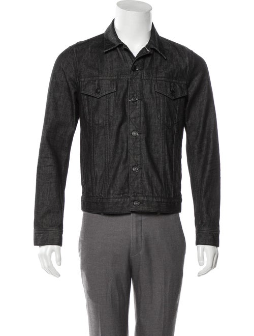 Vince Denim Trucker Jacket black